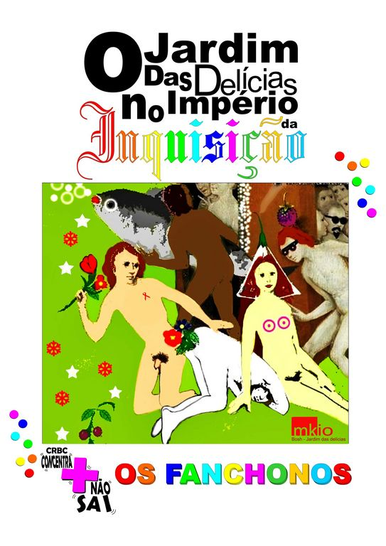 91db0f14a Usamos como alegoria o tríptico El Jardín de las Delicias (O Jardim das  Delícias) de Hieronymus Bosch