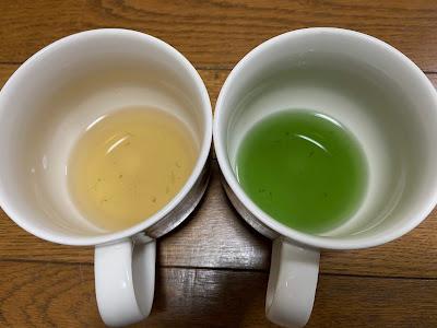 ごぼうの煮汁に重曹2