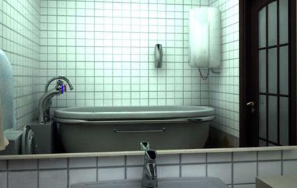 Escape 3D The Bathroom 2  1001 JUEGOS