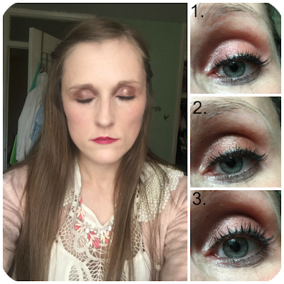 primark ps nudes palette look