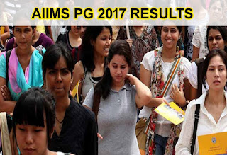 AIIMS PG 2017 Results, AIIMS Result 2017 PG July