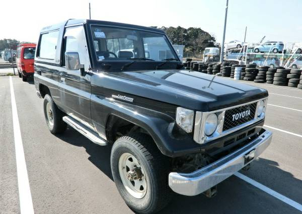1989 Toyota Land Cruiser BJ74 Project