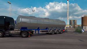 Chromed Cistern trailer mod