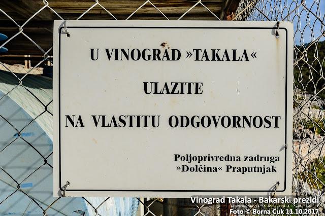 Vinograd Takala / Bakarski prezidi