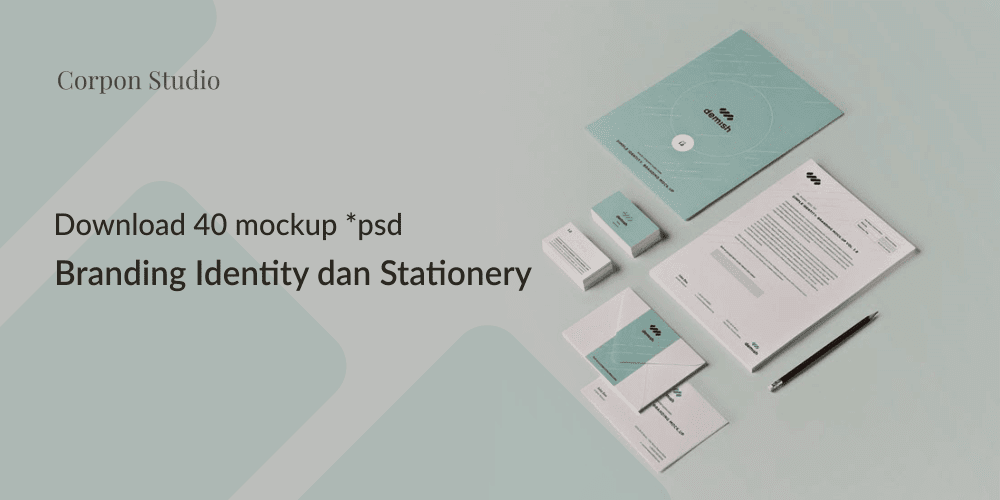 Download Branding Stationery Mockup Gratis Terbaru