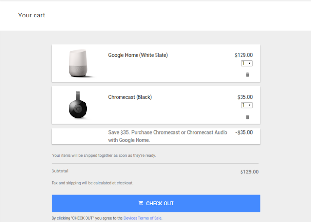 BOGO Offer: Get Google Chromecast Or Chromecast Audio Free On Purchase Of Google Home