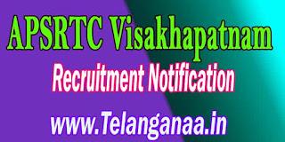 APSRTC Visakhapatnam Driver Recruitment Notification 2016