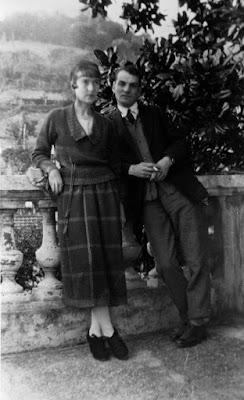Katherine Mansfield and John Middleton Murry in 1920
