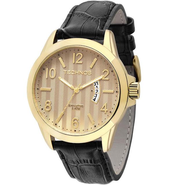 Relógio masculino Technos para você que é estiloso e que deseja um toque ainda mais sofisticado no look