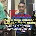 """Saya Bagi Amaran, Jangan Main-Main"" Hafiz Hamidun Warning Joy Revfa"