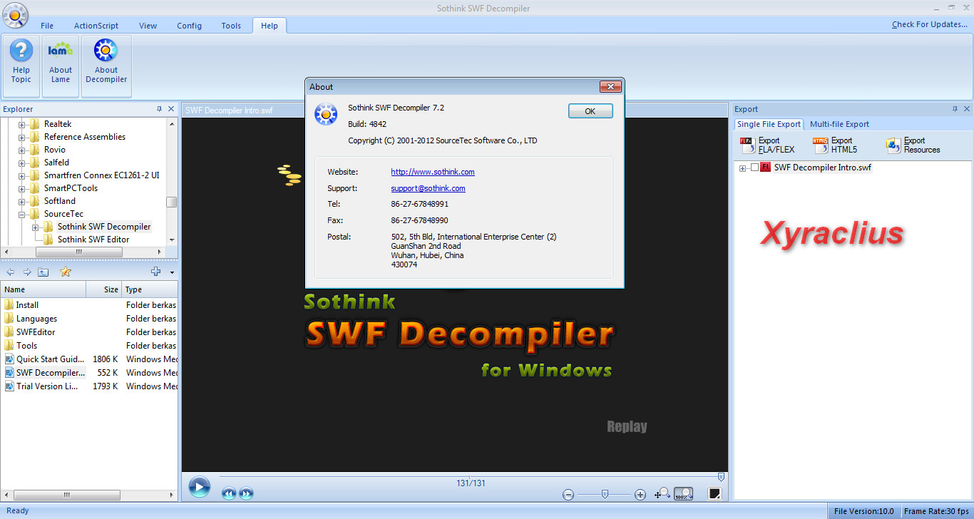 Sothink swf decompiler keygen mac