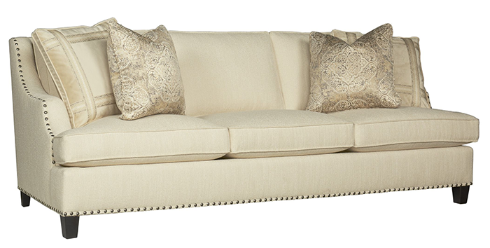 Selecting a stylish new sofa | via monicawantsit.com