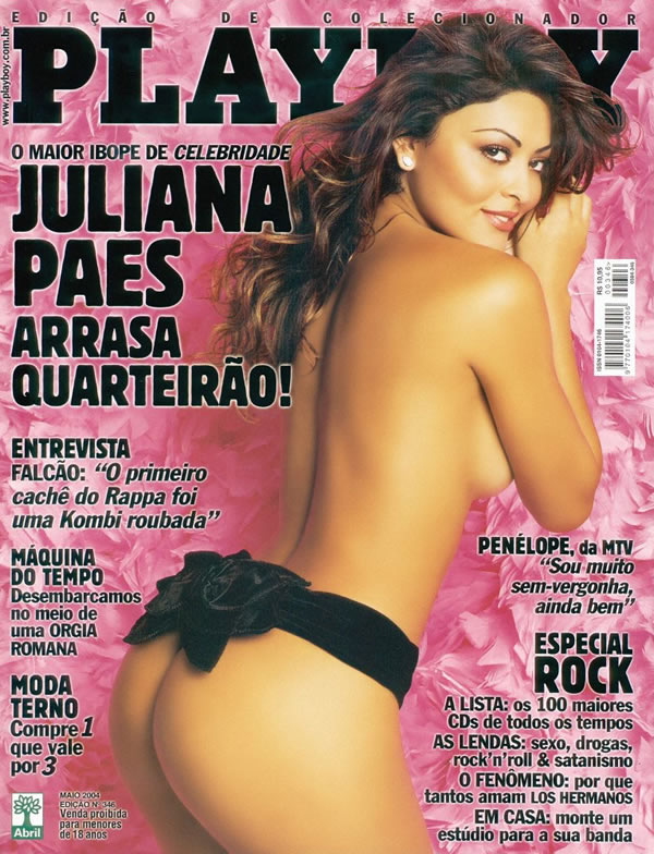 Juliana Paes nua na revista Playboy