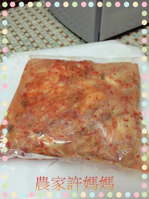很有特色如何製作韓國泡菜-許媽媽韓國泡菜2