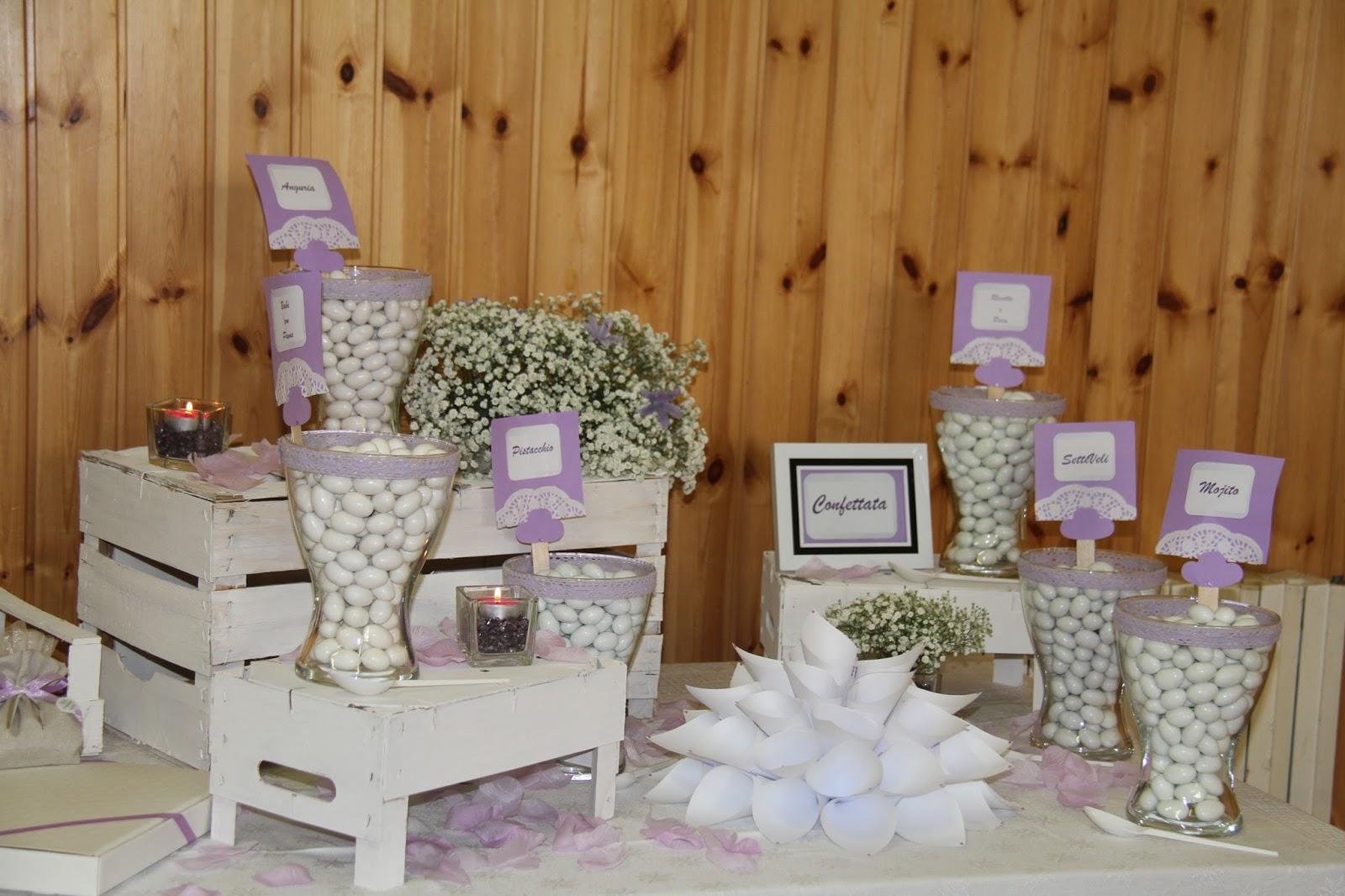 Alessandra verde wedding planner confettata shabby chic - Confettata matrimonio a casa ...