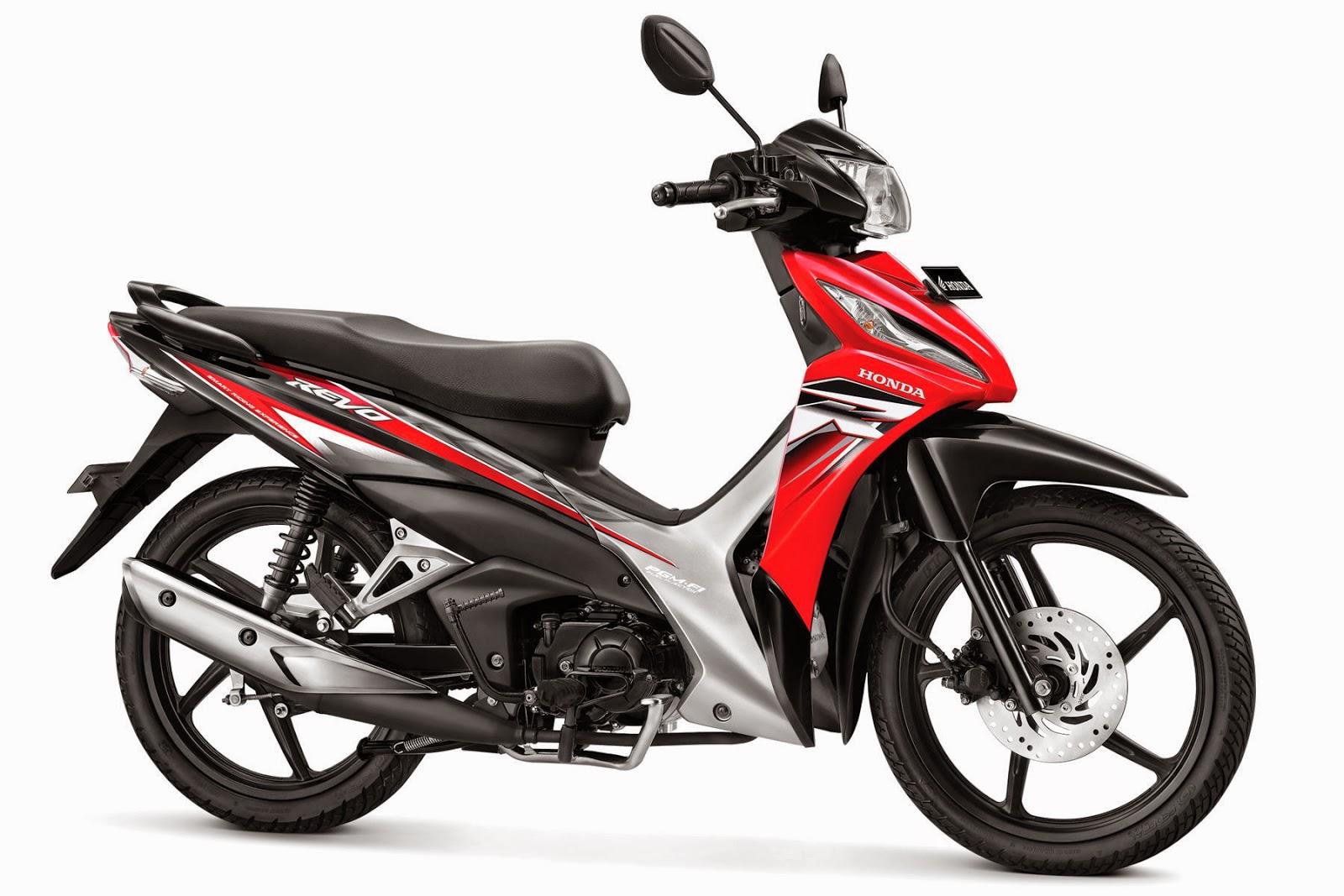 Gambar Modifikasi Motor New Honda Revo 2014