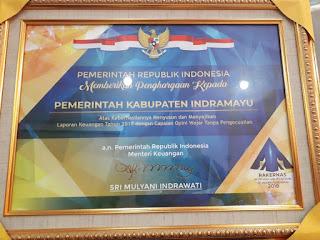 Indramayu Raih Opini WTP
