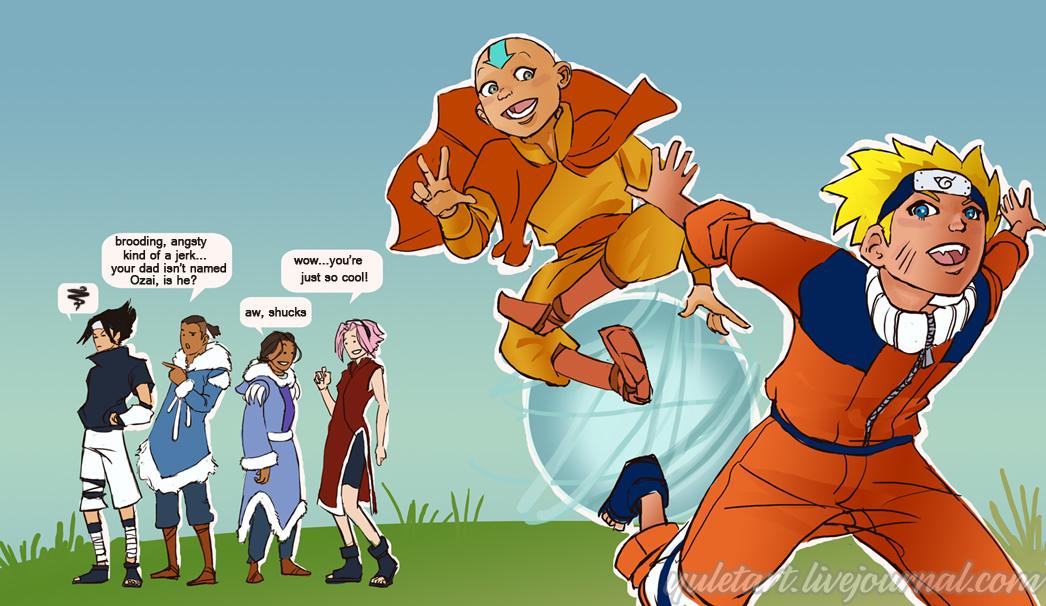 Naruto vs Avatar  Naruto vs Avata...