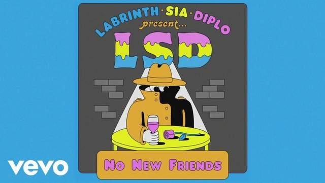 Lirik Lagu No New Friends - Sia ft Diplo & Labrinth (LSD) dan Terjemahan