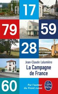 La Campagne de France - Jean-Claude Lalumière - Le Livre de Poche