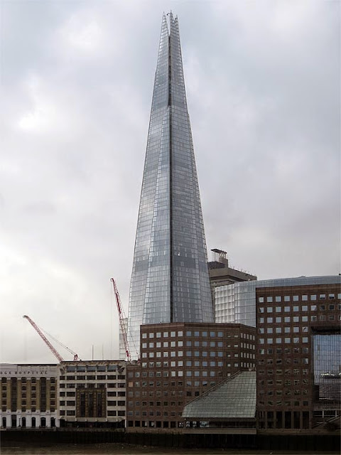 The Shard, Shard of Glass, by Renzo Piano, London Bridge Street, Southwark, London