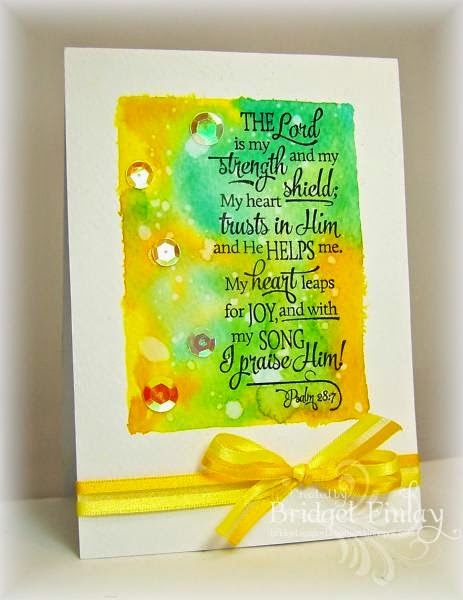 ODBD Scripture Collection 13, Customer Card of the Day by Bridget Finlay