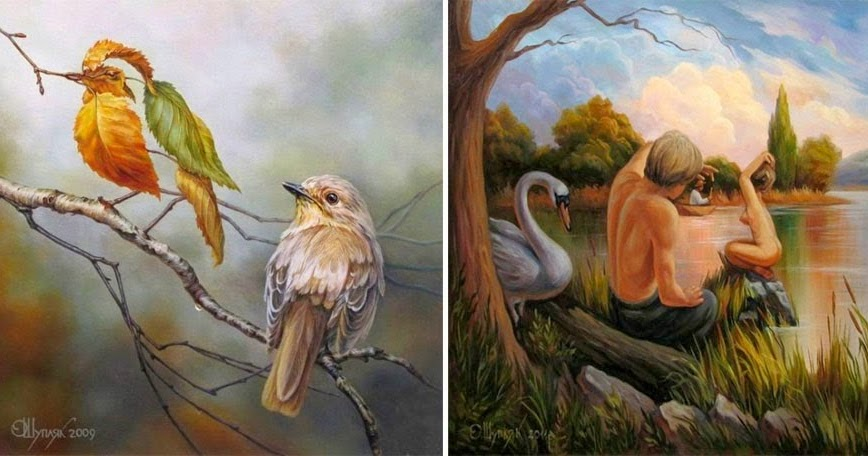 Amazing optical illusions amazing arts for Your paintings are amazing