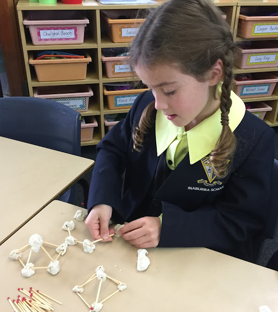 Playing with playdough to create 3D objects