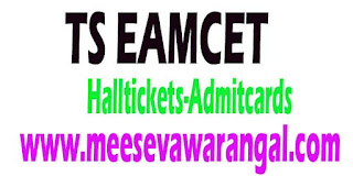 Telangana EAMCET 2017 Hall Ticket Admit Card