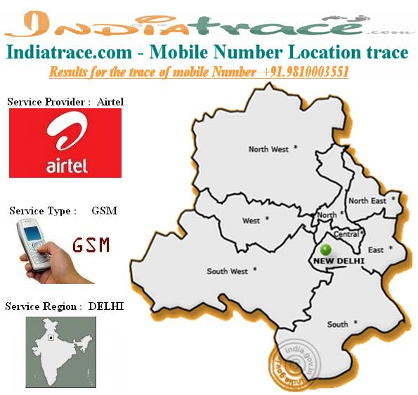 How To Track Location Of A Mobile Number In India Mobile