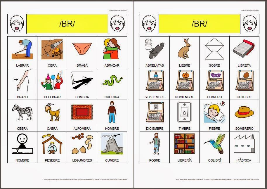 Dibujos Con La Trabada Br: Nuevos Materiales Para Niños Con Problemas Para
