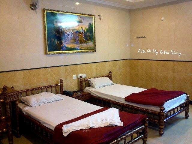 ISKCON Temple Guest House Room, Hyderabad, Telangana