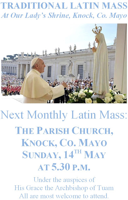May 2017 Monthly Latin Mass in Knock