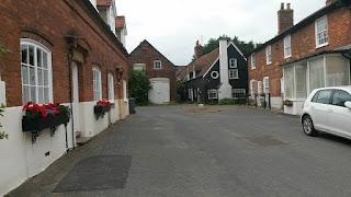 coastal English village