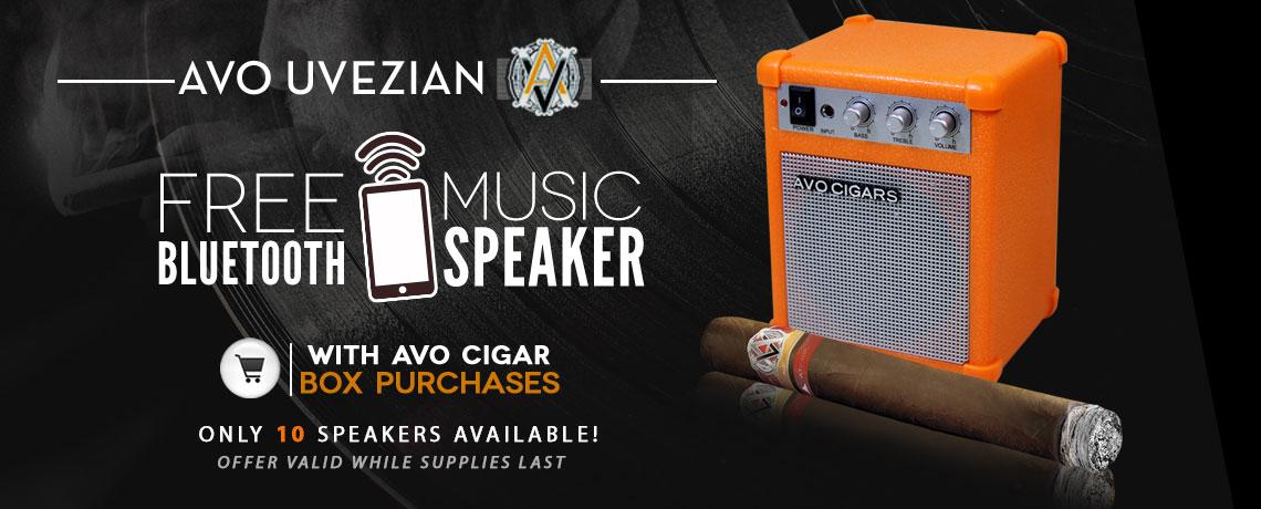 Corona Cigar Company Blog: 🎵 Free Avo Bluetooth Speaker