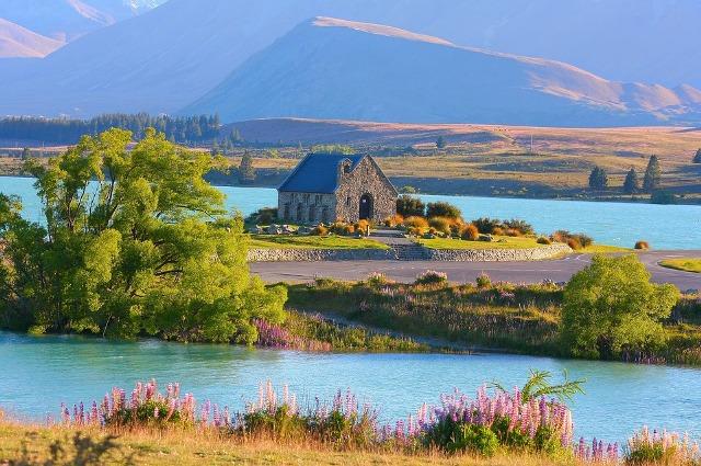 Danau Tekapo, Selandia Baru