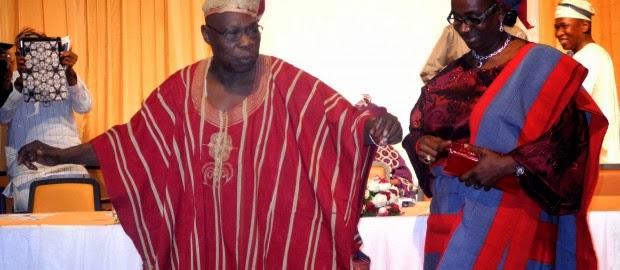 obasanjo daughter wedding