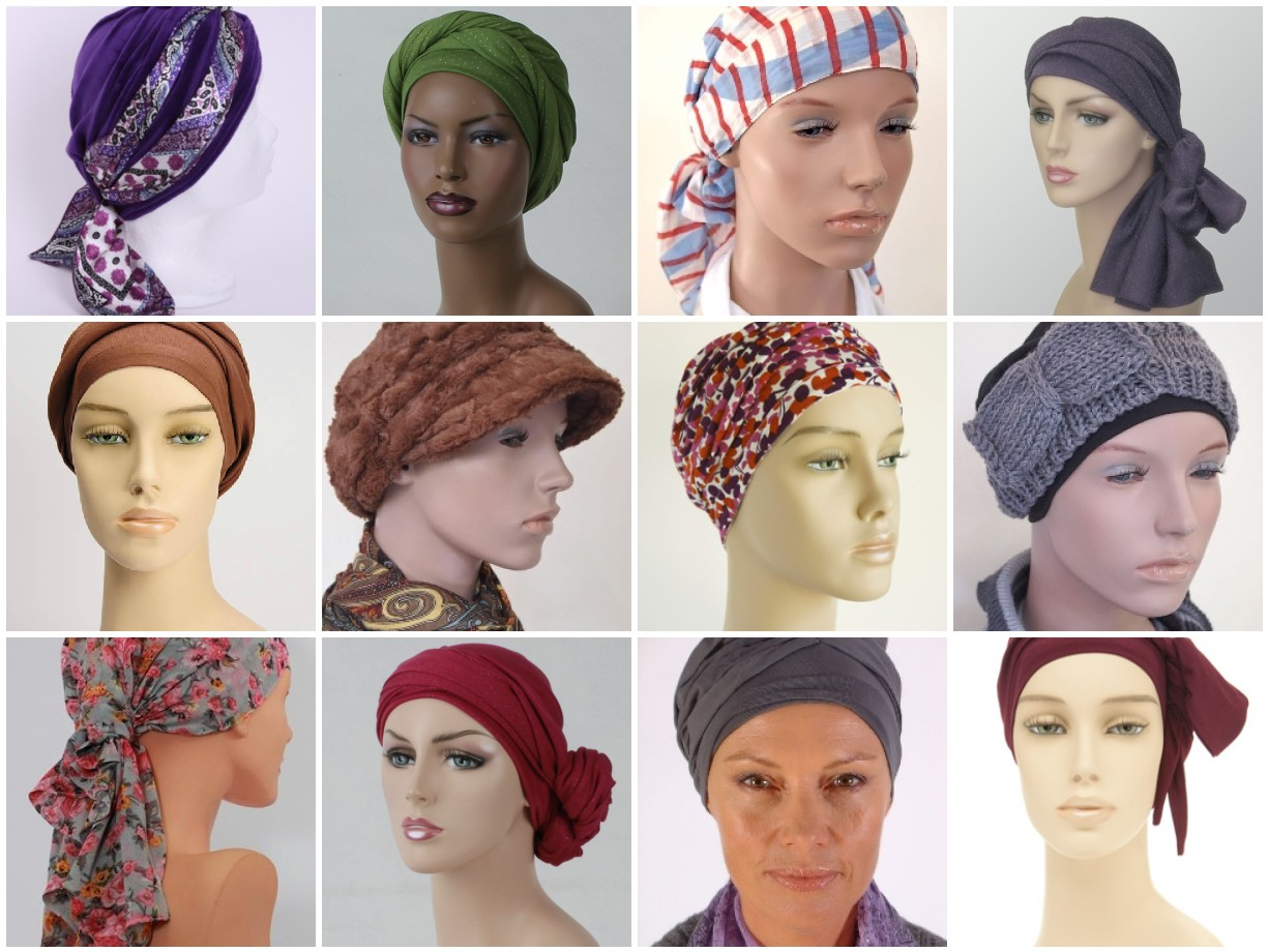 2e54515c892 ... by people going through chemo themselves! But don t forget to use your  own imagination as well. Spice it up a little with other hair accessories  such as ...