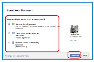 How Can I Retrieve My Facebook Password