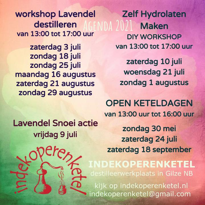 Workshops en open dagen 20121