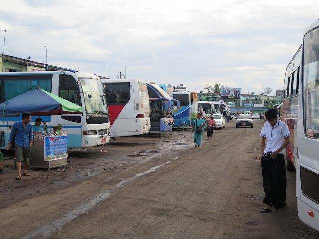 Estación de autobuses de Yangon