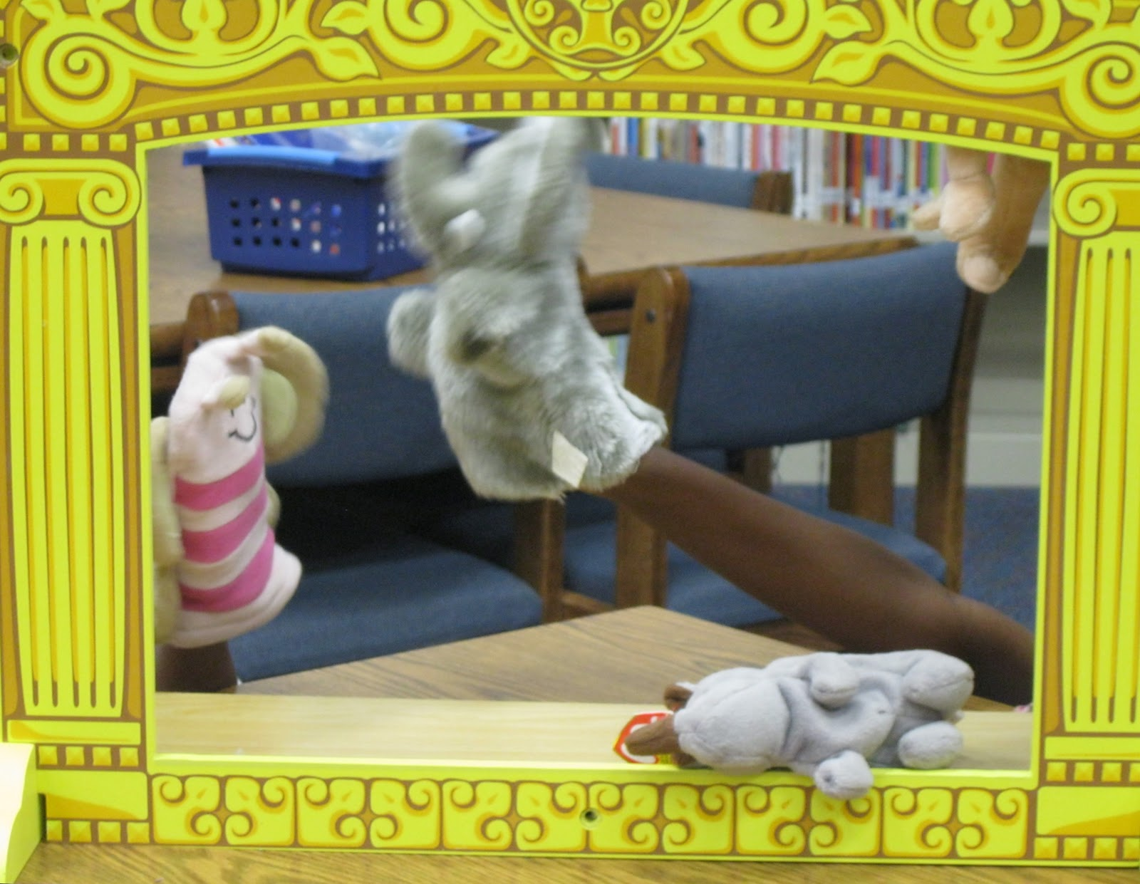 Librarianism Chronicles Peter Rabbit And Puppet Shows