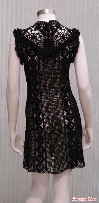 wzór sukienki szydełkowej darmowy