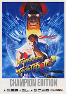 street fighter ii 2 sf2 streetfighter champion edition championship poster