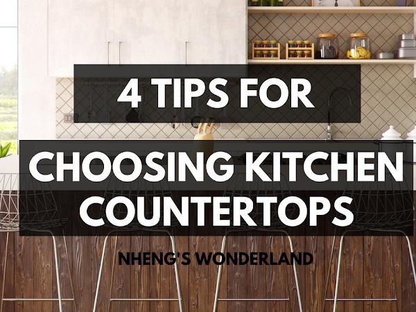 4 Tips For Choosing Kitchen Countertops