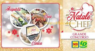 Logo Concorso ''Un Natale da Chef'': vinci buoni spesa, Lagostina. Bimby e soggiorno