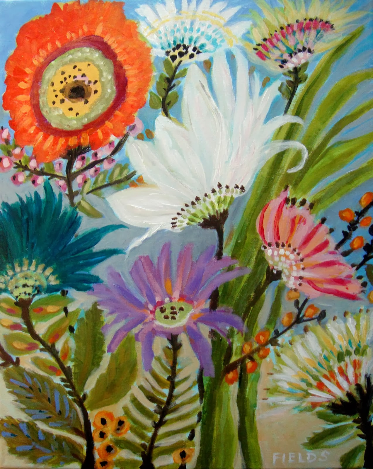 About Starting An Etsy Shop Selling Your Paintings My