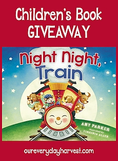 Night Night, Train Children's Board Book Giveaway