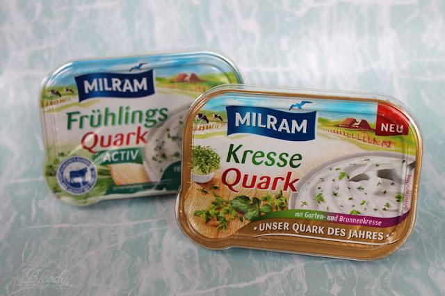 MILRAM Gewürzquark in den Sorten 'FrühlingsQuark Activ' & 'KresseQuark'