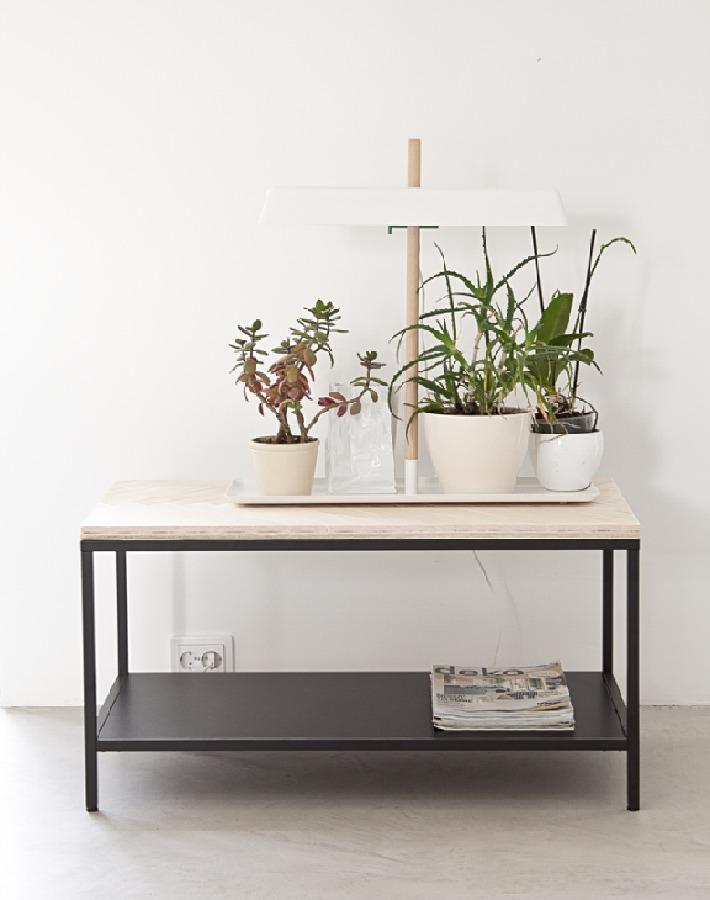 Diy mesa de centro de diseño